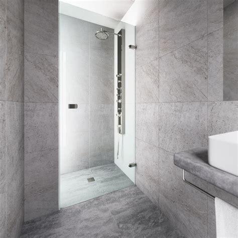 Vigo Tempo 26 5 In X 70 625 In Frameless Pivot Shower Vigo Glass Shower Door