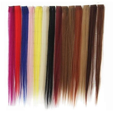 synthetic hair extensions clip in china synthetic hair clip in hair extension china