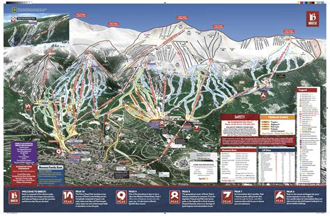 breckenridge ski map breckenridge trail map