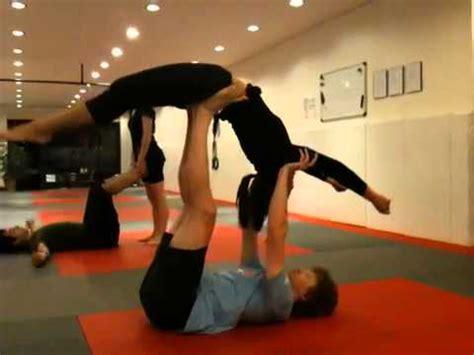 acro yoga tutorial ninja star acroyoga videolike