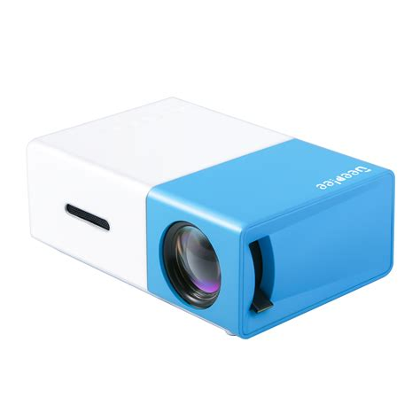 Projector Mini Usb deeplee dp300 mini projector portable led projector home cinema theater with pc laptop usb sd