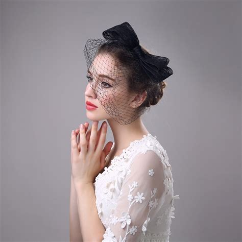 Cheap Vintage Wedding Hair Accessories by Popular Wedding Hat Veils Buy Cheap Wedding Hat Veils Lots