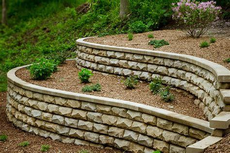 rosetta stone walls retaining wall benson stone co rockford il