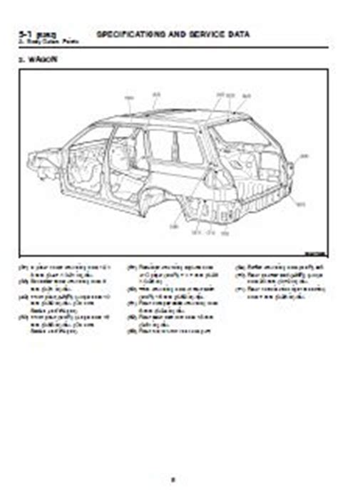best car repair manuals 2005 subaru legacy head up display 25 best images about subaru workshop service repair manual on