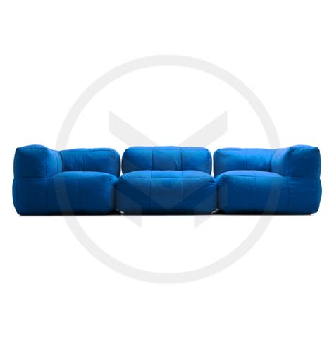 Beanbag Loveseat bean bag sofa