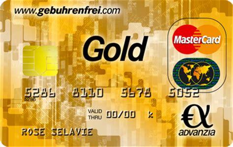 advenzia bank geb 252 hrenfrei mastercard gold kostenlose kreditkarte mit