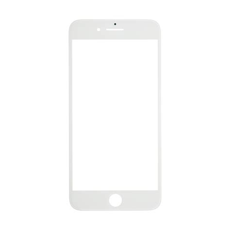 iphone 7 plus white glass lens screen and front frame cold press glue fixez