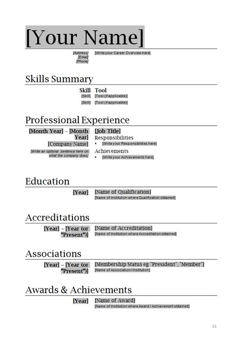 How To Write A Professional Resume Template How To Write Resume Format Letters Free Sle Letters