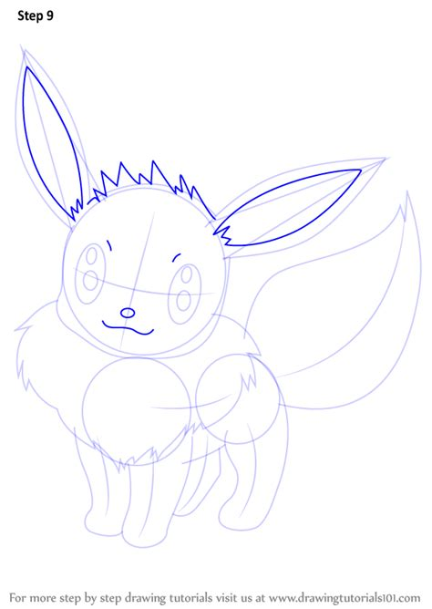 doodle drawing tutorials learn how to draw eevee from step by