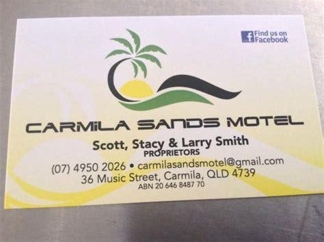 tripadvisor business card template carmila sands motel australien omd 246 och