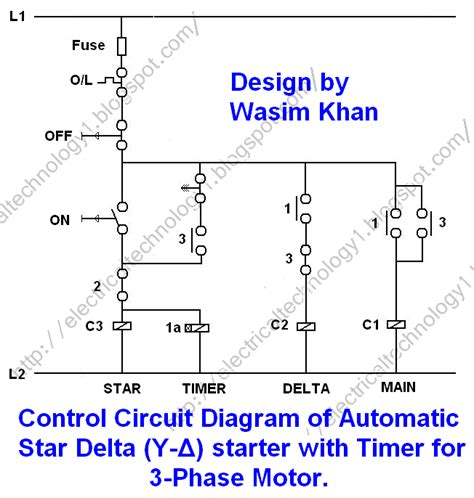 wiring diagram 3 phase motor delta connection