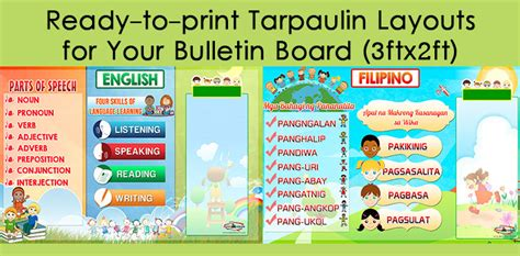 how to make tarpaulin layout design in photoshop high quality tarpaulin layouts for bulletin board 3ft x