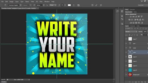 free youtube avatar template photoshop template youtube