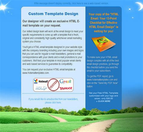 free html newsletter templates htmltemplates17 50 useful and free html newsletter templates