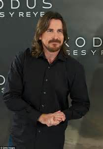 Ruggedly Handsome Actors by Christian Bale Is At His Bearded Best At Exodus Photocall