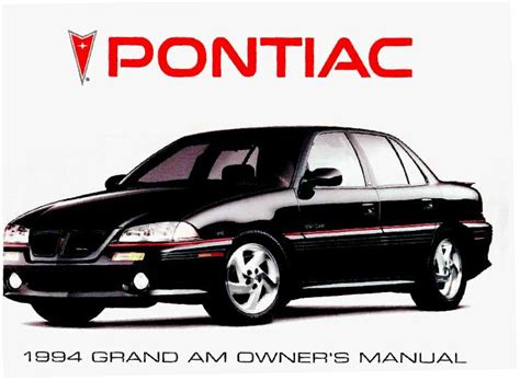 car manuals free online 2004 pontiac grand am user handbook service manual security system 1992 pontiac grand prix free book repair manuals service