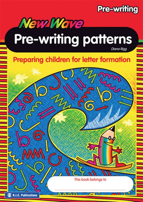 periwinkle pattern writing book new wave pre writing patterns activity book r i c