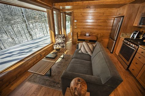 Park Model Travel Trailer Floor Plans Escape Luxury Rv Cabin Hiconsumption