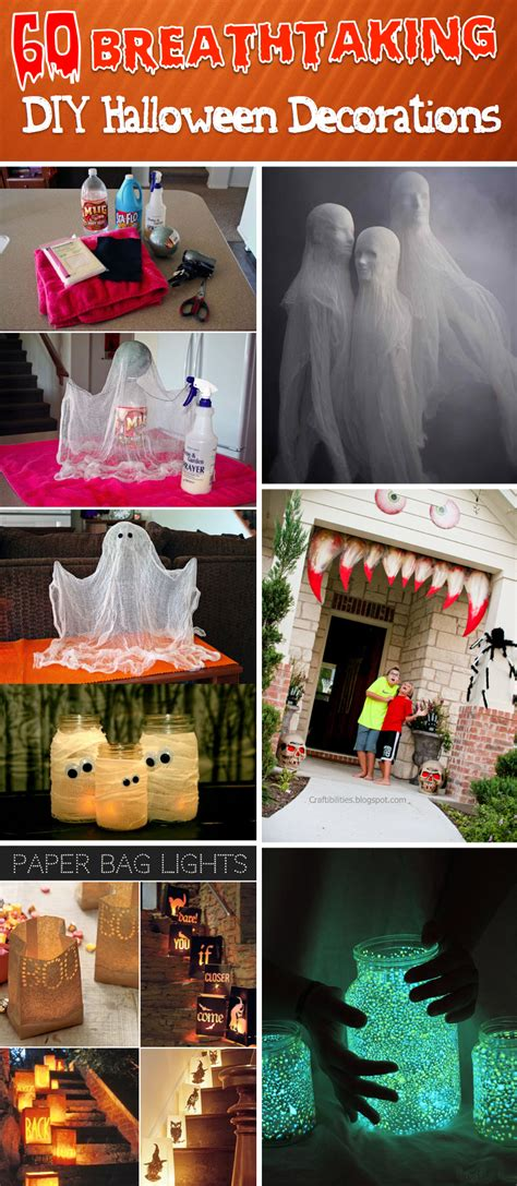 halloween diy 60 best diy halloween decorations for 2017