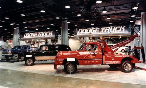 dodge truck timeline show history chicago auto show 2015