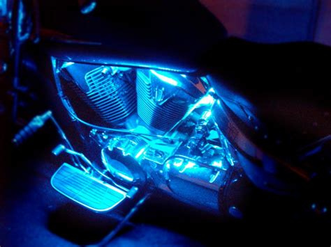 Led Motorcycle Lights by Motorcycle Engine Leds 187 Neoncycle St Louis Mo