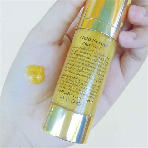Serum Gold Vit C gold serum plus vit c by forever thailand best selling products shopping