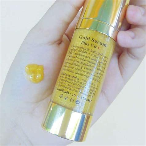 Serum Vit C Gold gold serum plus vit c by forever thailand best