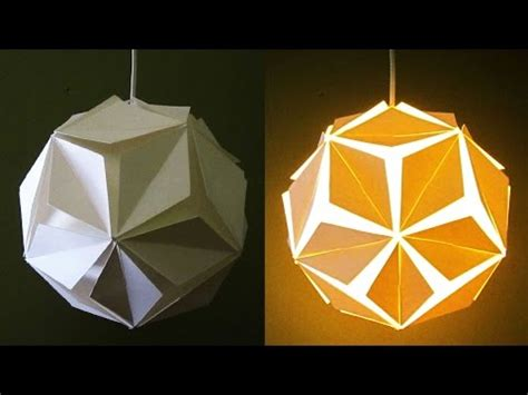 How To Make A Paper Lantern Light - diy l lantern 5 petals learn how to make a paper