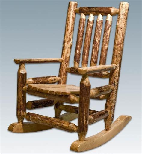 log rocking chair plans  ideas    uk
