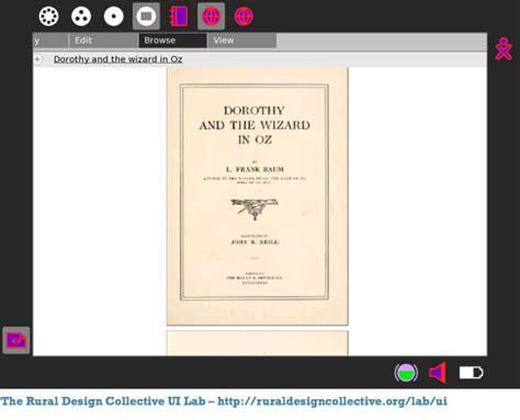 novel format djvu chapter gen collection interface gci e book enlightenment
