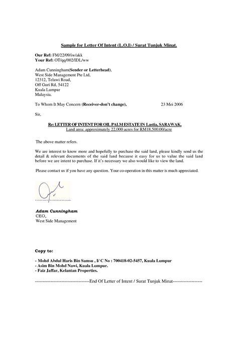Contoh Letter Of Intent Sewa Kapal Aku Tentang Apa Saja Kerjaya Broker Hartanah Perunding Hartanah