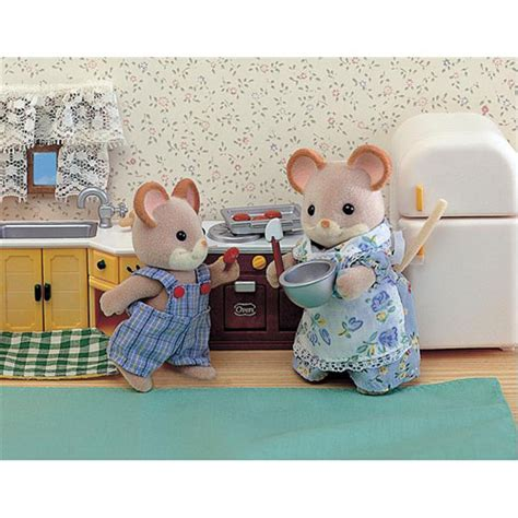 Calico Critters Kitchen by Calico Critters Kozy Kitchen Set Amazing Toys