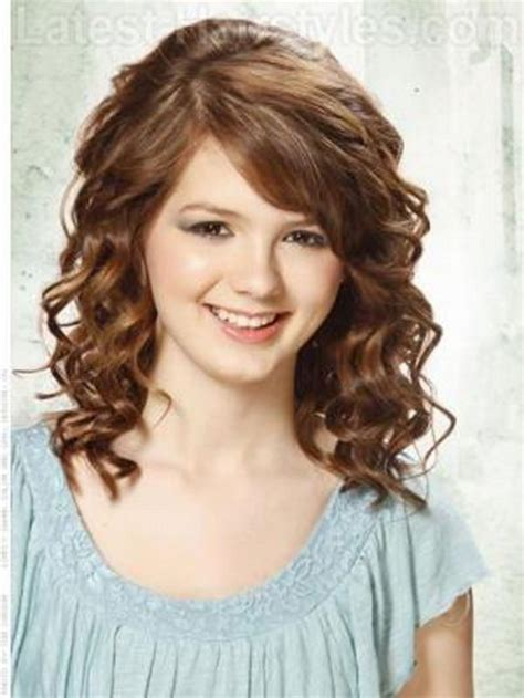hairstyles for medium length hair curly medium length haircuts curly hair layered