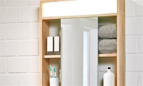 Badezimmer Spiegelschrank Mit Beleuchtung Holz by Spiegelschrank Selber Bauen Selbst De