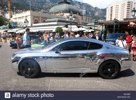chrome bentley chrome bentley continental gt in monte carlo an area of