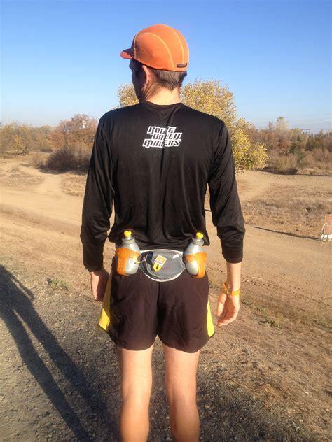 wearing a hydration belt hydration belt shootout ultrarunnerpodcast