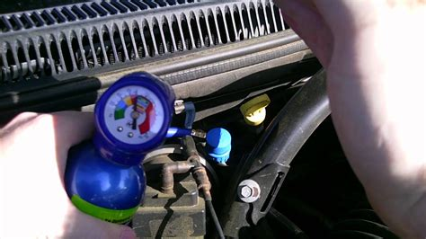 how to add refrigerant to a 2001 2004 dodge caravan 2003 dodge caravan se 3 3l v6 flexfuel diy recharging the a c system in your jeep youtube