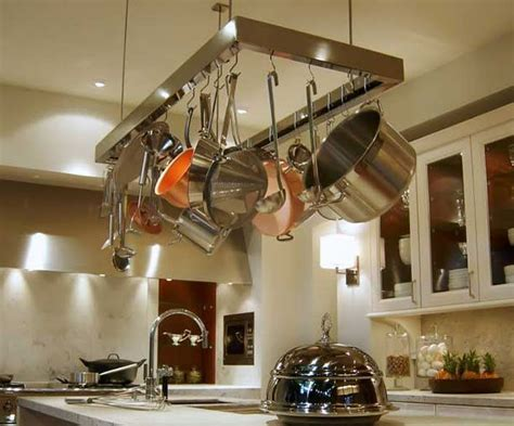 Kitchen Ceiling Pot Hangers 122 Best Images About Pot Rack On Wall Mount