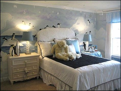 winter room decor penguin bedroom theme design and decor ideas for
