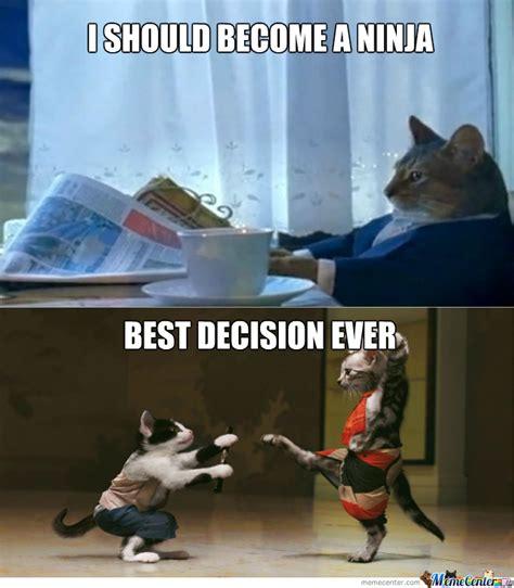 Ninja Meme - ninja cat by recyclebin meme center