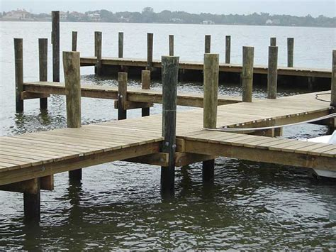 boat lift pilings beach home building materials