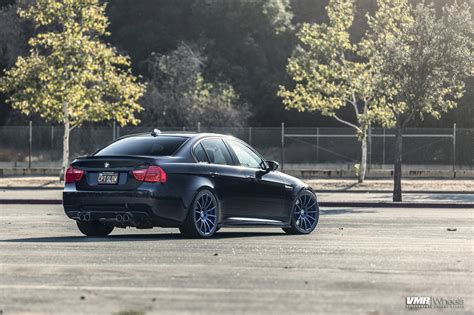 Bmw E90 Wheels by Bmw E90 M3 Gets That Darth Vader Look