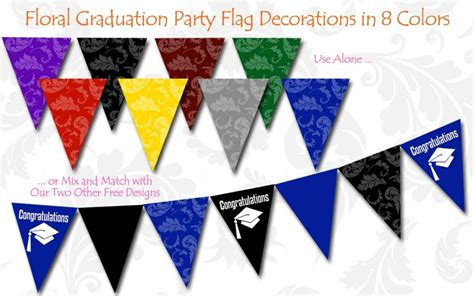 printable banner graduation free graduation table decoration ideas photograph these fr