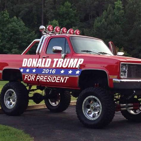 Trump Truck Giveaway - blogs