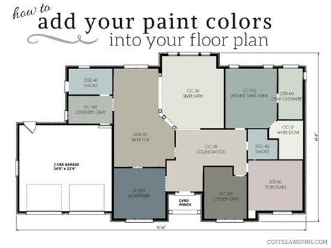 Open Floor Plan Color Schemes