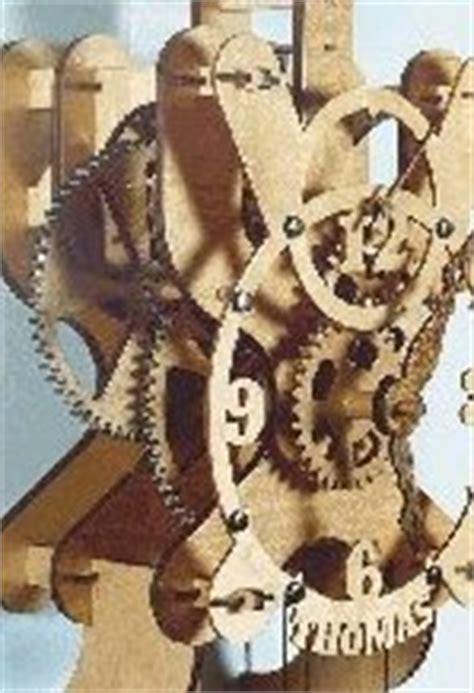woodwork wooden clock kit  plans
