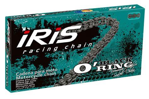 cadena moto o ring cadena para moto o 180 ring black iris chains moto