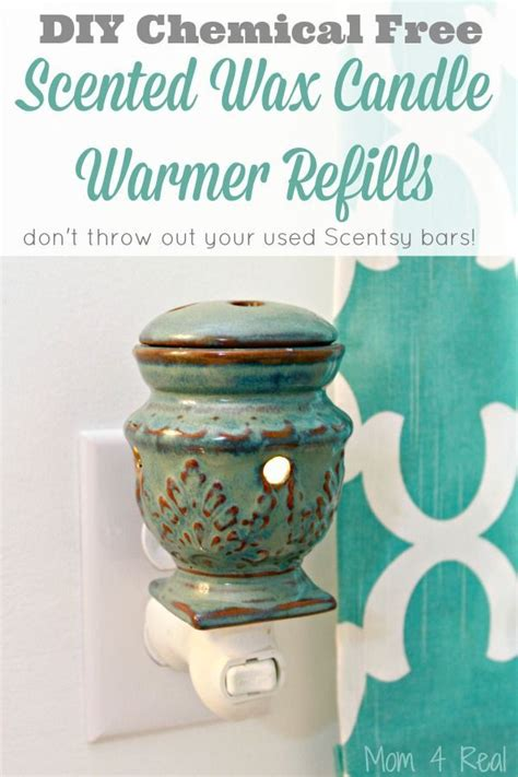 diy warmers diy chemical free scented wax candle warmer refills
