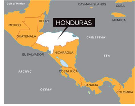 honduras on a world map map of honduras in world map and continent pictures to pin