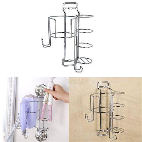 Hair Dryer And Straightener Organizer ecoart hair dryer and straightener curling iron holder